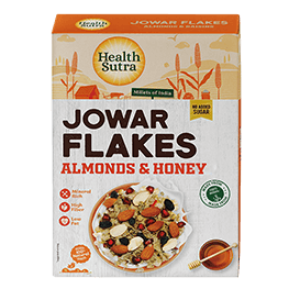 Jowar Flakes Almonds & Honey