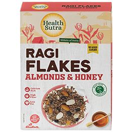 Ragi Flakes Almonds & Honey