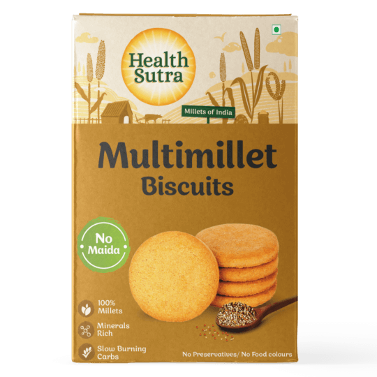 Multi millet Biscuits